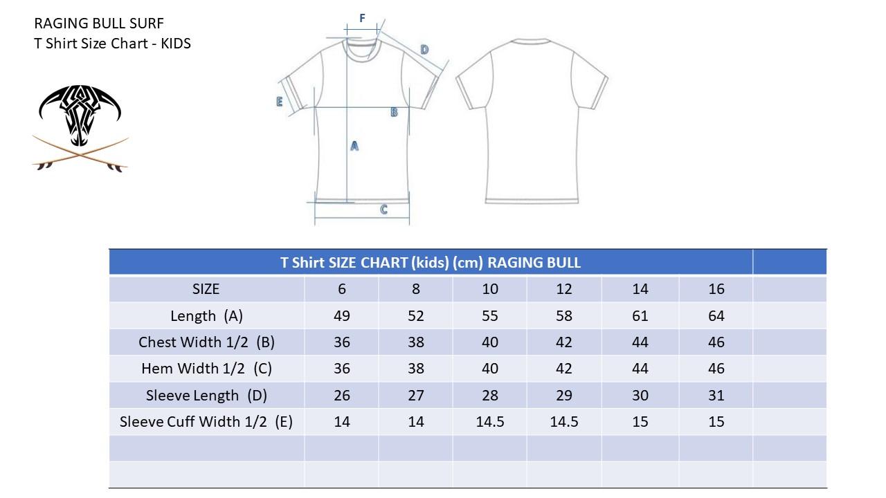 Raging-Bull-Size-Chart-T-Shirt-KIDS