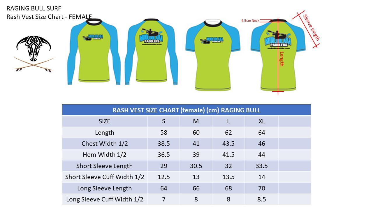 Raging-Bull-Size-Charts-Rash-Vest-FEMALE