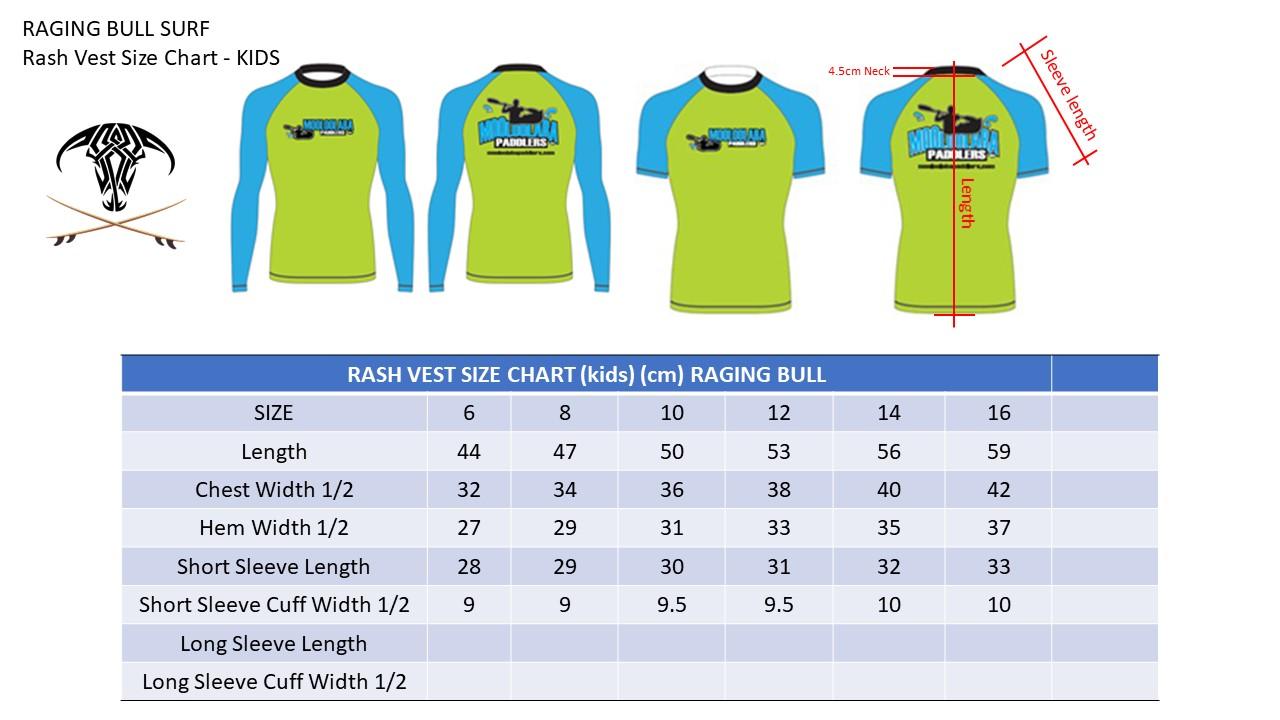 Raging-Bull-Size-Charts-Rash-Vest-KIDS